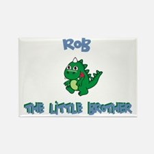 Rob - Dinosaur Brother Rectangle Magnet