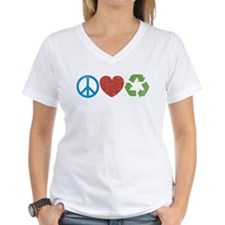 Peace, Love, Recycle Shirt