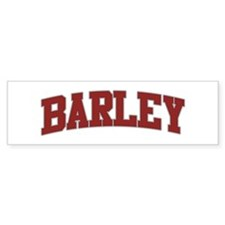 BARLEY Design Bumper Bumper Sticker