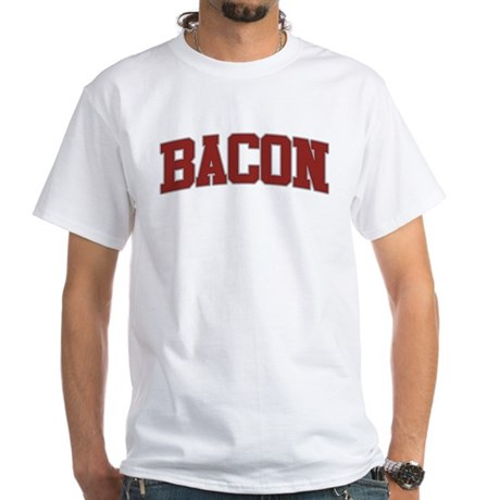 BACON Design White T-Shirt