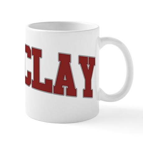 BARCLAY Design Mug