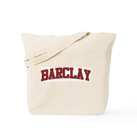 BARCLAY Design Tote Bag