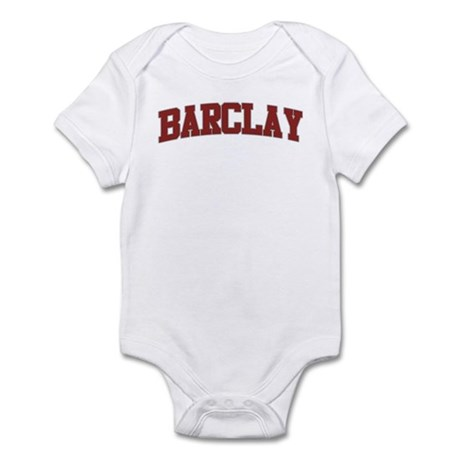 BARCLAY Design Infant Bodysuit