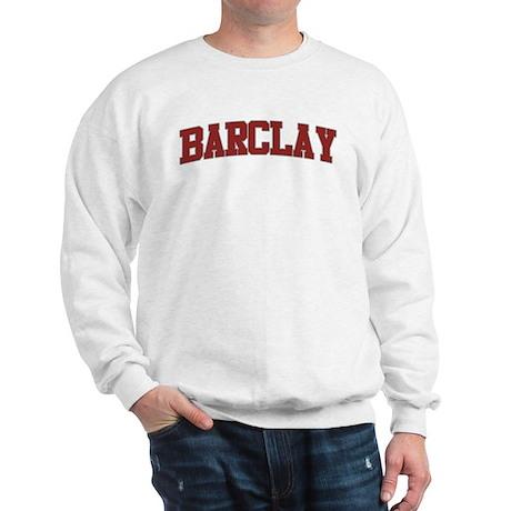 BARCLAY Design Sweatshirt