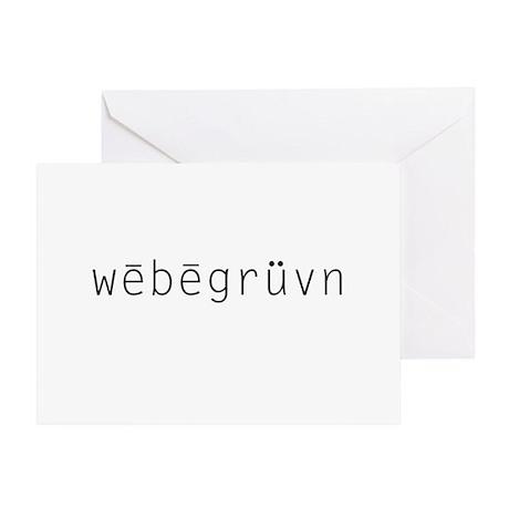 webegruvn Greeting Card