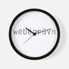 webegruvn Wall Clock