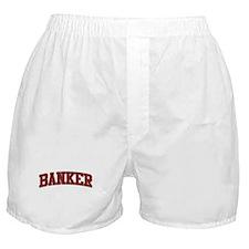BANKER Design Boxer Shorts