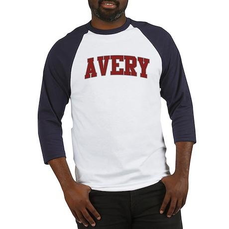 AVERY Design Baseball Jersey