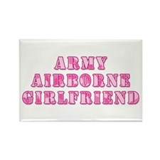 Airborne Girlfriend Rectangle Magnet