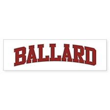 BALLARD Design Bumper Bumper Sticker