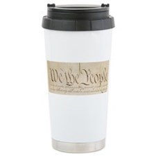 The Us Constitution Travel Mug