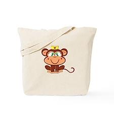 Female Monkey Tote Bag