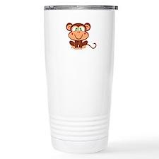 Boy Monkey Travel Mug