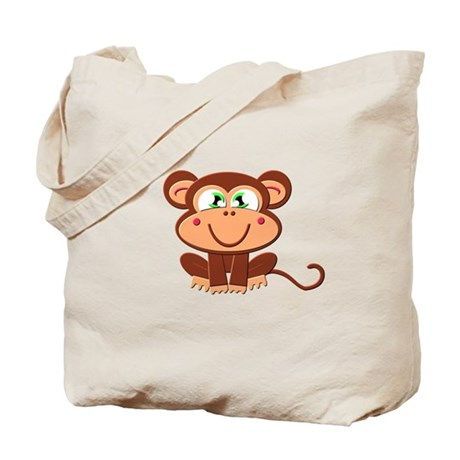 Boy Monkey Tote Bag