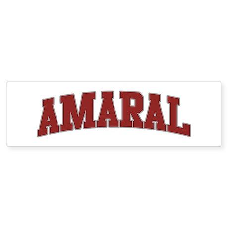 AMARAL Design Bumper Sticker
