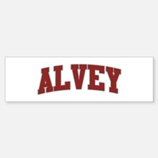 ALVEY Design Bumper Bumper Bumper Sticker
