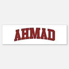 AHMAD Design Bumper Bumper Bumper Sticker