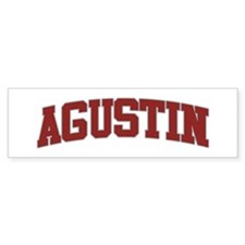 AGUSTIN Design Bumper Bumper Sticker