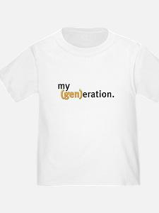 my (gen)eration T
