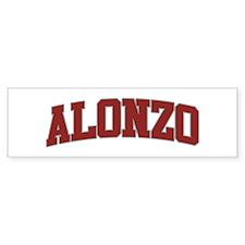 ALONZO Design Bumper Bumper Sticker