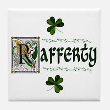 Rafferty Celtic Dragon Ceramic Tile