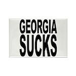 Georgia Sucks Rectangle Magnet