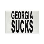 Georgia Sucks Rectangle Magnet (10 pack)