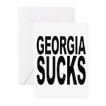 Georgia Sucks Greeting Cards (Pk of 20)