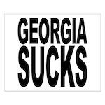 Georgia Sucks Small Poster