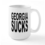 Georgia Sucks Large Mug
