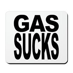 Gas Sucks Mousepad