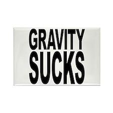 Gravity Sucks Rectangle Magnet