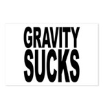Gravity Sucks Postcards (Package of 8)