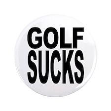 "Golf Sucks 3.5"" Button (100 pack)"