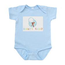 Retro Daddy's Caddy Golf Infant Bodysuit