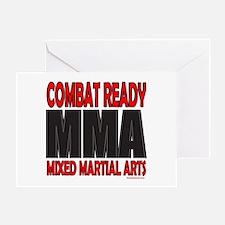 COMBAT READY MMA Greeting Card