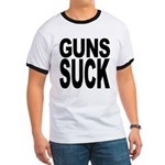 Guns Suck Ringer T