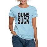 Guns Suck Women's Light T-Shirt