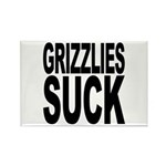 Grizzlies Suck Rectangle Magnet