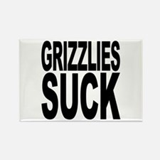 Grizzlies Suck Rectangle Magnet