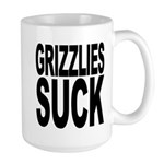 Grizzlies Suck Large Mug