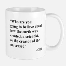 Scientist Vs God Mug