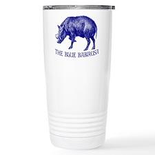 The Blue Babirusa - Travel Coffee Mug