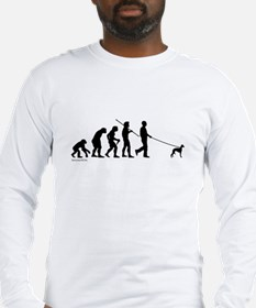 Whippet Evolution Long Sleeve T-Shirt