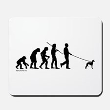 Whippet Evolution Mousepad