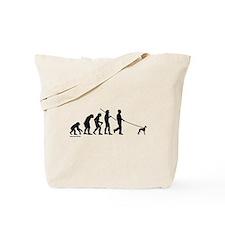 Whippet Evolution Tote Bag