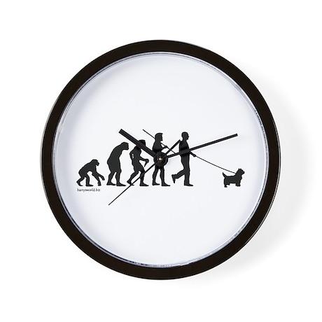 Westie Evolution Wall Clock
