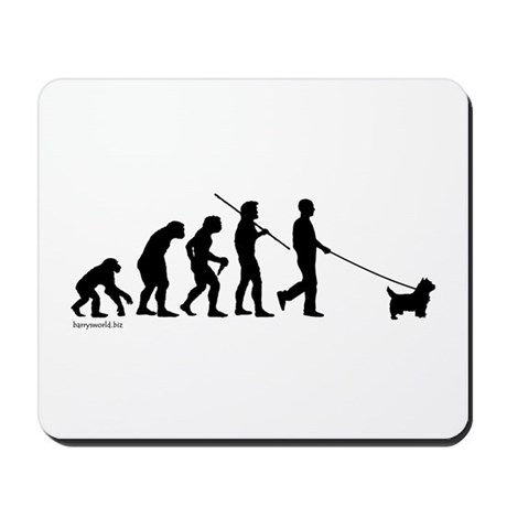 Westie Evolution Mousepad