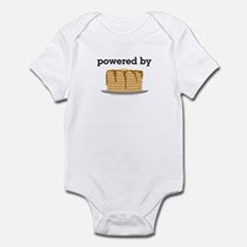 Powered By Pancakes Infant Bodysuit