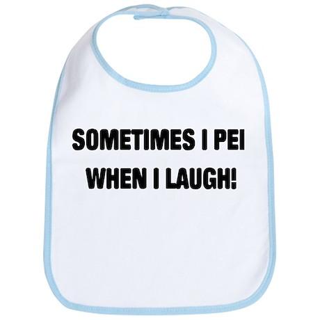 Laugh & Pee Bib